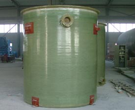 Tanks for Water Treatment in Factory