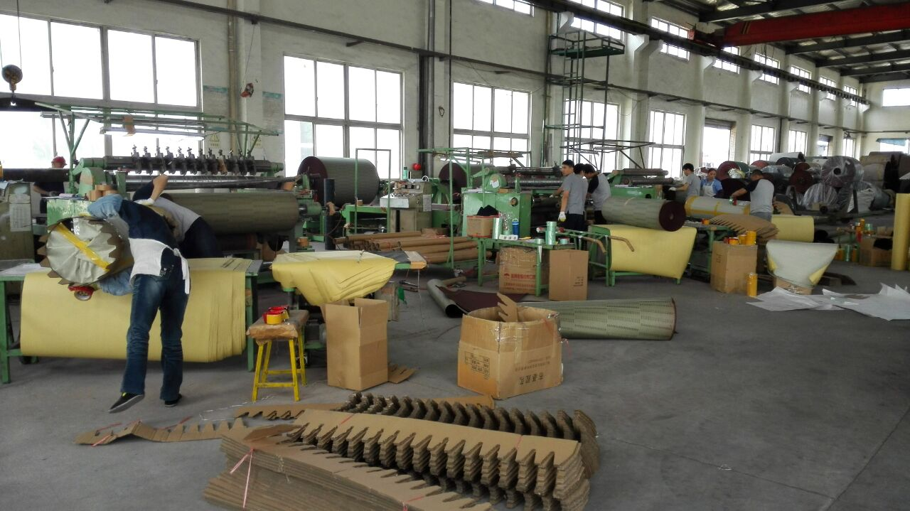 Packing line--cloth