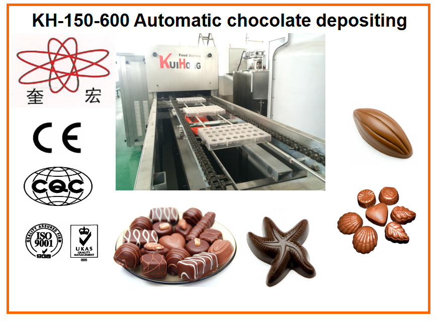 KH 150-600 chocolate bar making machine