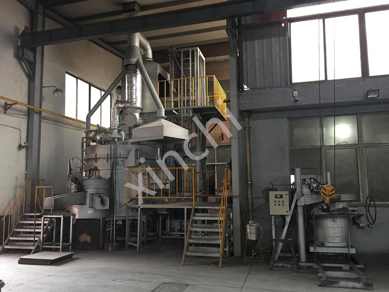 gas casting furnace