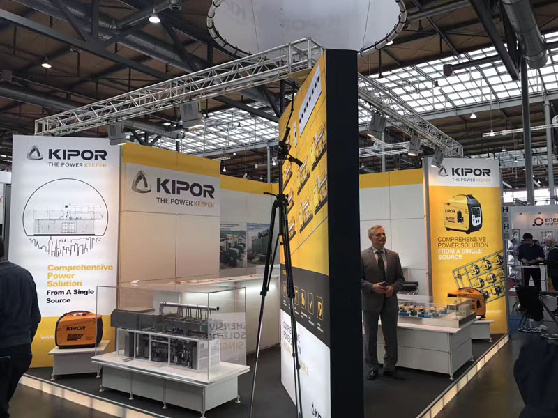 KIPOR Appears in Hannover Messe with New Products