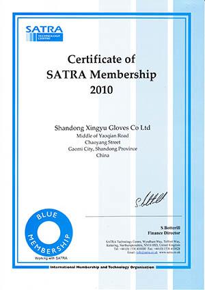 SATRA membership 2010