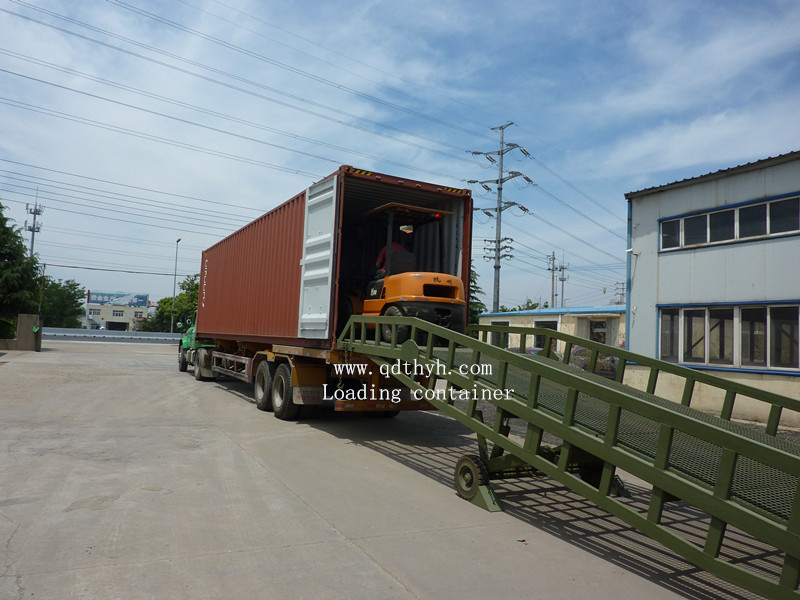 Loading Container in Our Factory