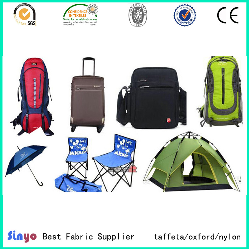 Professional Pu&PVC Coated Oxford fabric for Bags&Luggage