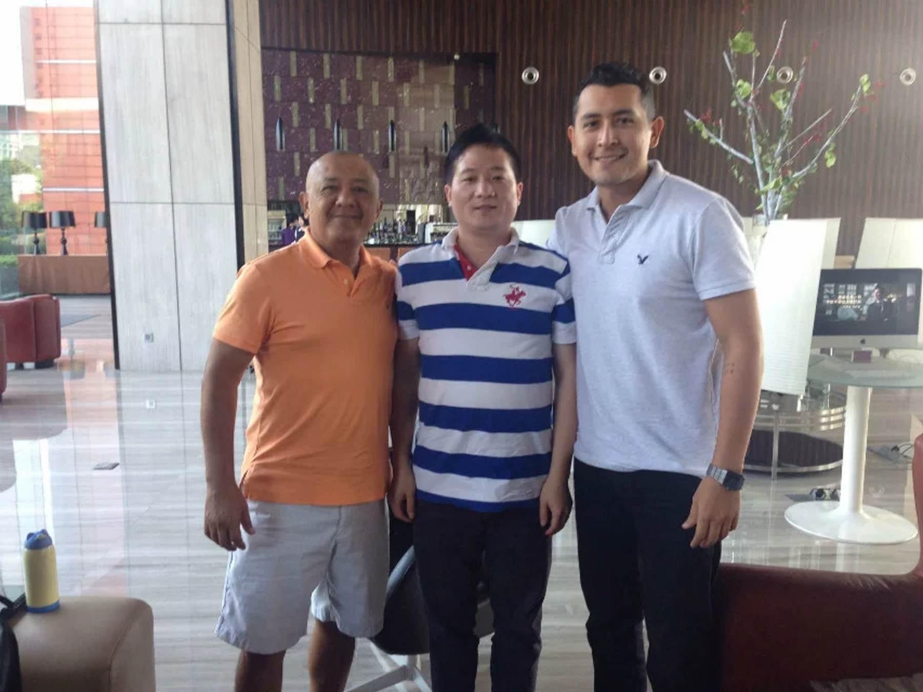 Mexico customer meet in China Canton Fair