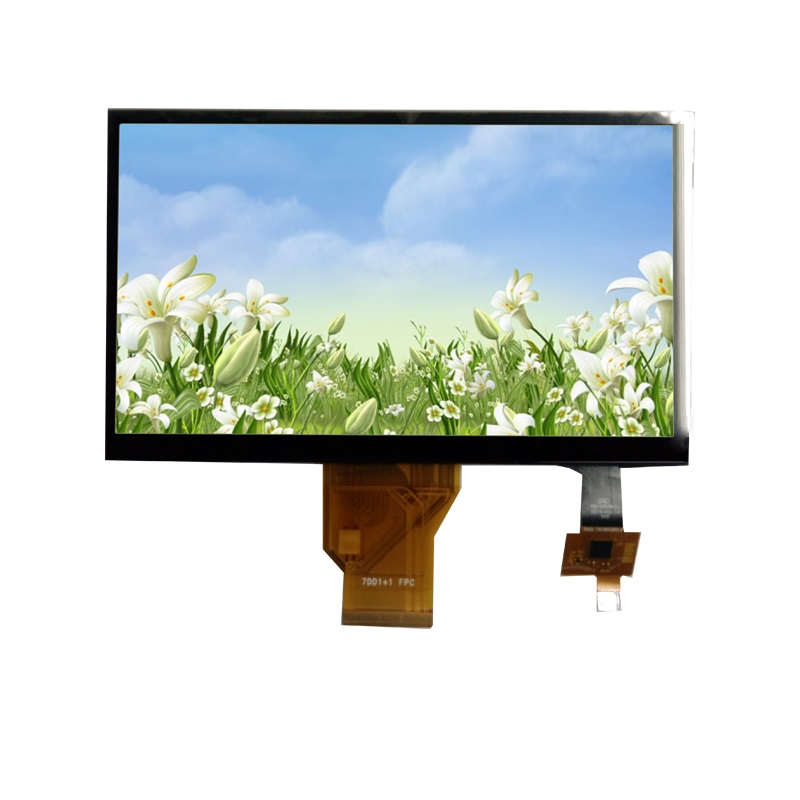 7 Inch TFT Display Module with Capacitive Touch Panel, LVDS Interface: ATM0700L6A-CT