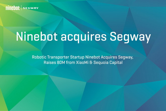 Ninebot acquires Segway