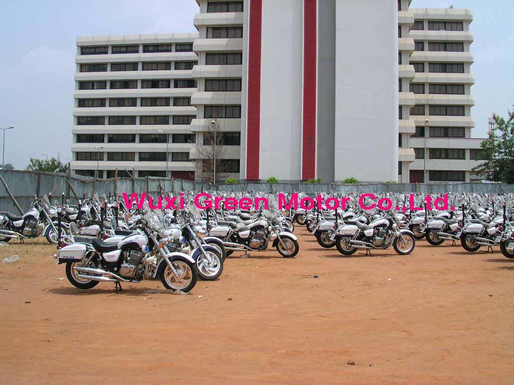 Export Policeman Motorcycles 250cc to Nigeria
