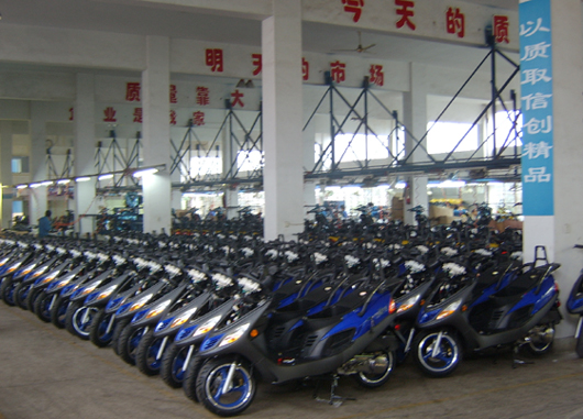 scooters Boss-125 to be shipped to ukraine