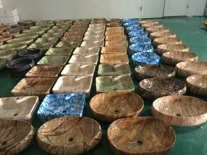 Wooden or Stone Colors Ceramic Sanitary ware