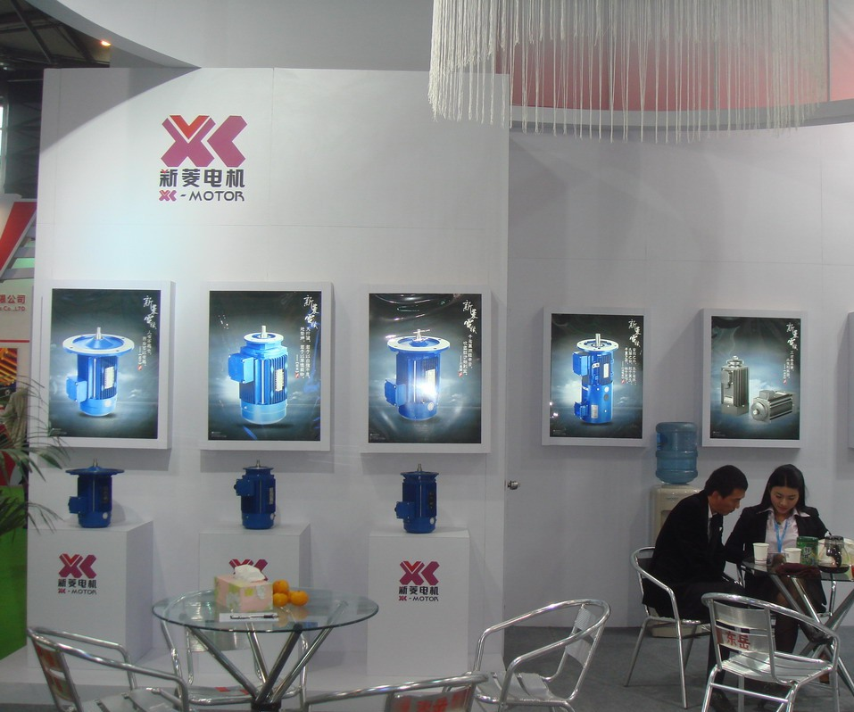 XL-Motor booth at Shanghai PTC Exhibition -4