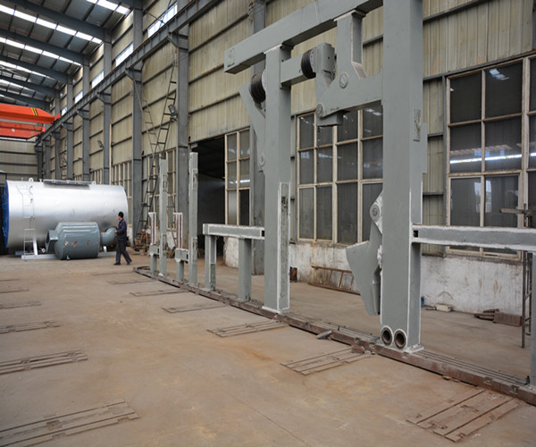 Test Installation for The Paper Machine Before Delivery