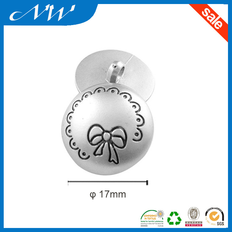 Polyester ABS Button with Hook