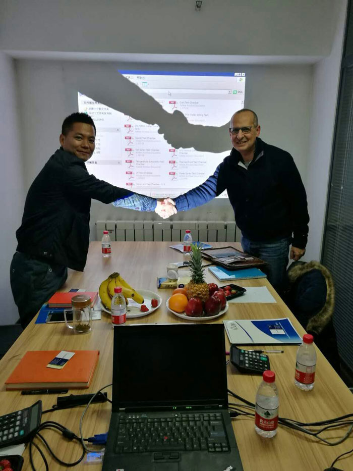 Italian Customer Achieving Cooperation With LIB