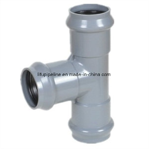 High Quality PVC Pipe Fitting Rubber Ring Joint for Water Supply DIN Standard PN10
