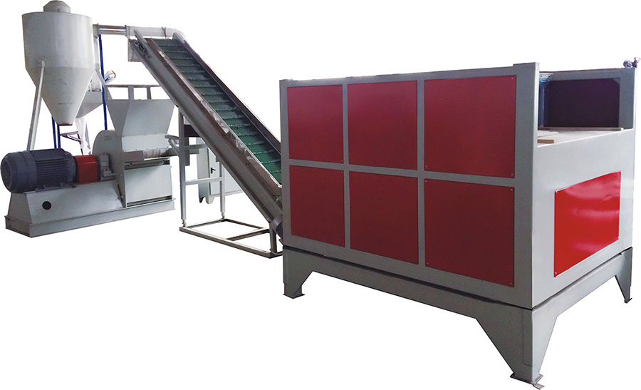 Least-Power Crusher for PVC and WPC Construsion Board