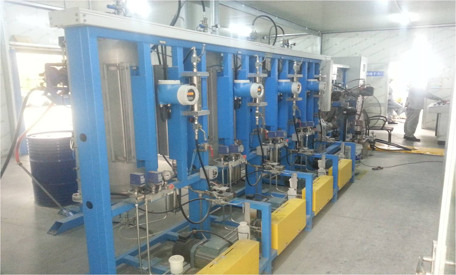 Production Line-Combination Foaming Machine