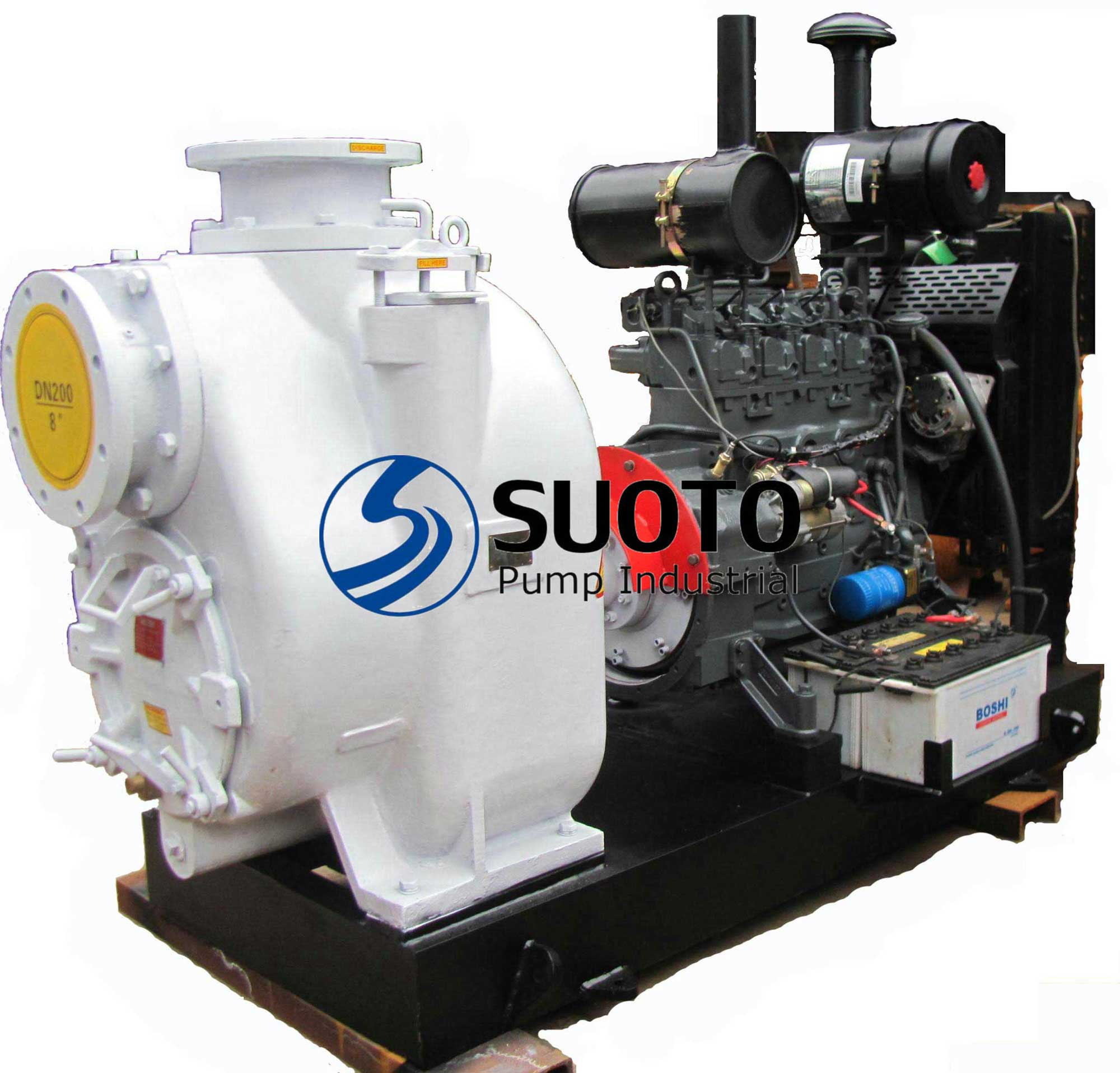 T-8 Self-Priming Diesel Trash Pump