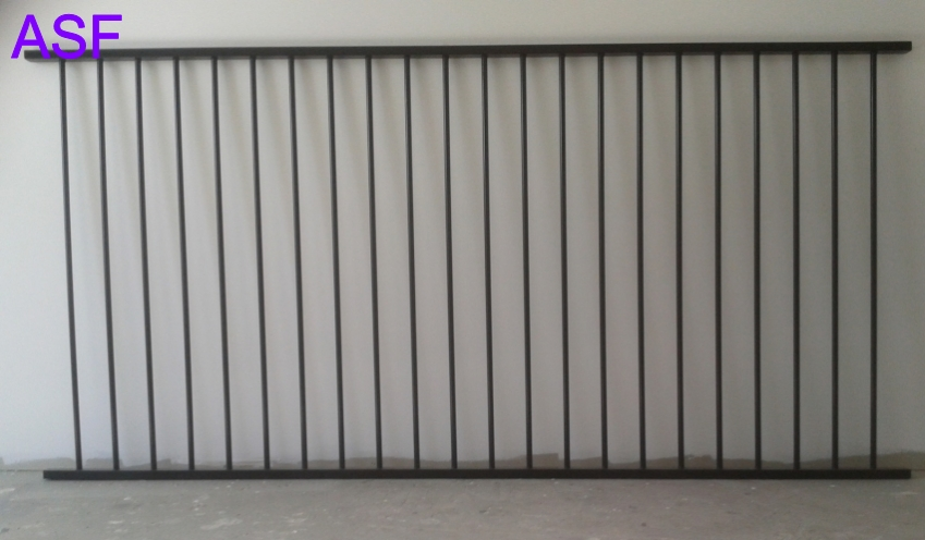 Flat Top Aluminium Pool Fencing Panel