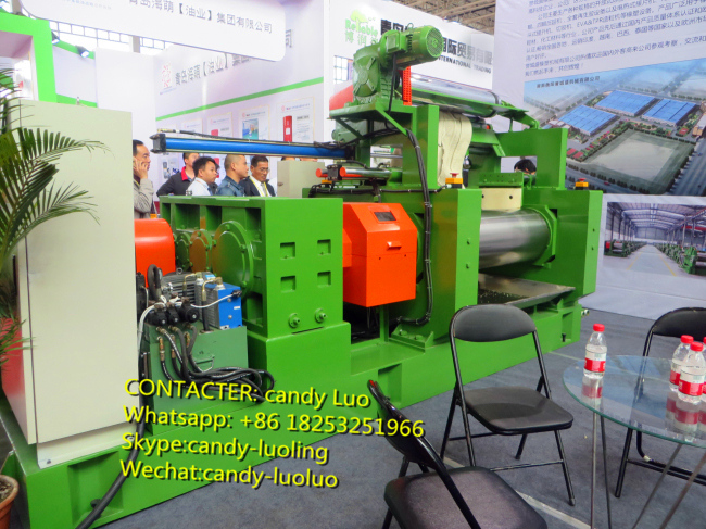 2016 year shanghai Exhibition of 18 inch mixing mill machine