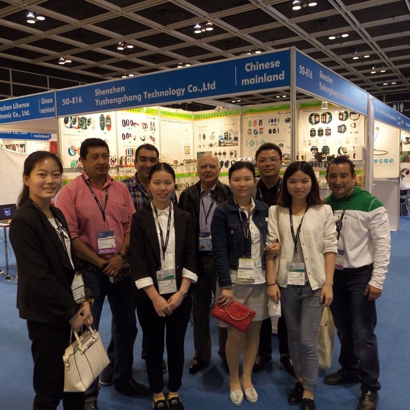 We attended the HK HKTDC Fair in Apr.2016