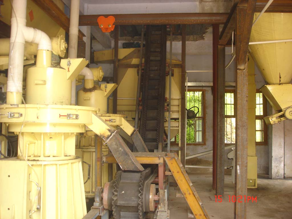 Guangdong biomass pellet making line (3T/h)