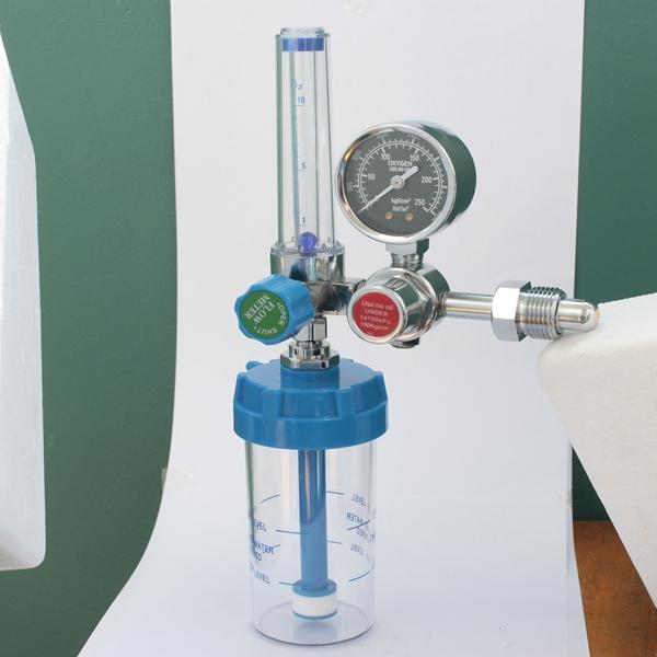 Oxygen Flowmeter with Humidifier Bottle Oxygen Regulator Manufacturer