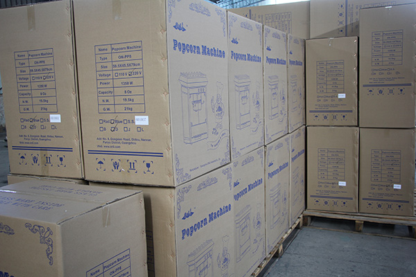 popcorn machine in stock
