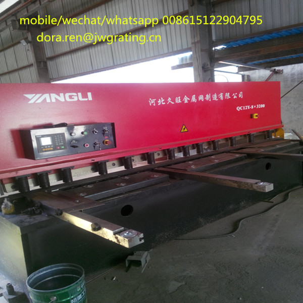 automatic bending machine for steel channel grating