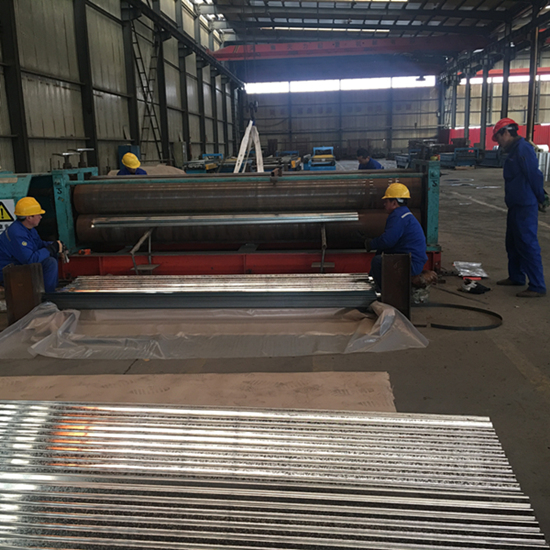 BWG34 corrugated galvanized steel sheet to Somalia market