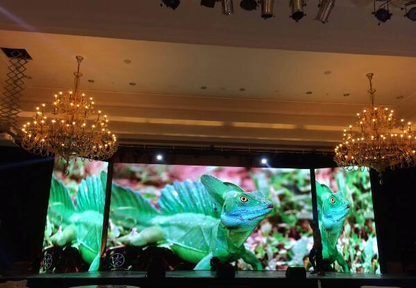 Indoor rental P3.91 stage event background led video display