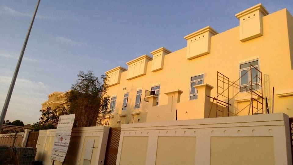 Dubai, UAE Villas Project--Teak Wood Aluminium Windows and Doors