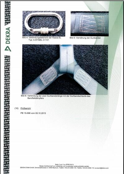 CE certification of absorber 3