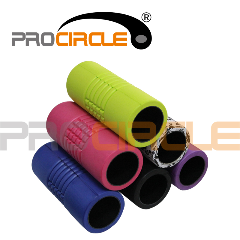 Crossfit EVA Grid Massage Hollow Foam Roller (PC-FR1027)