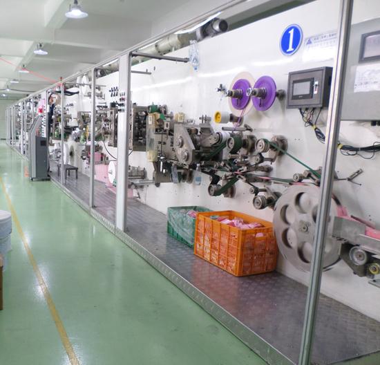 Advanced Sanitary Pad Machine