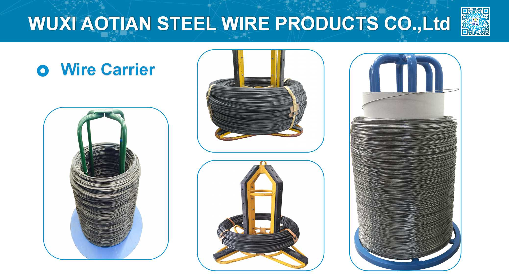 Wire carrier packing