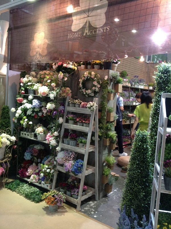 Home Accents' Booth Show in The Canton Fair