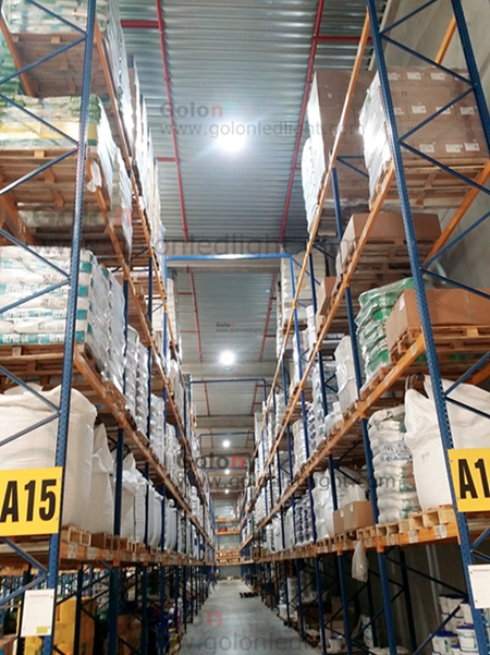 160W UFO LED lights 5000K for warehouse in France