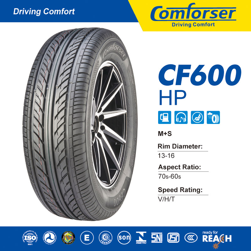HP Comfort Silence Tire with DOT ISO