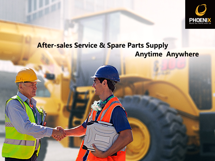 After-sales service and spare part supply
