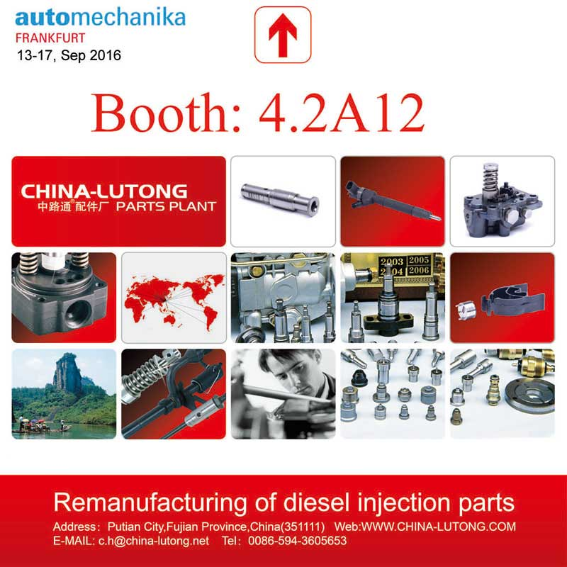 CHINA-LUTONG at Automechanika Frankfurt 2016!