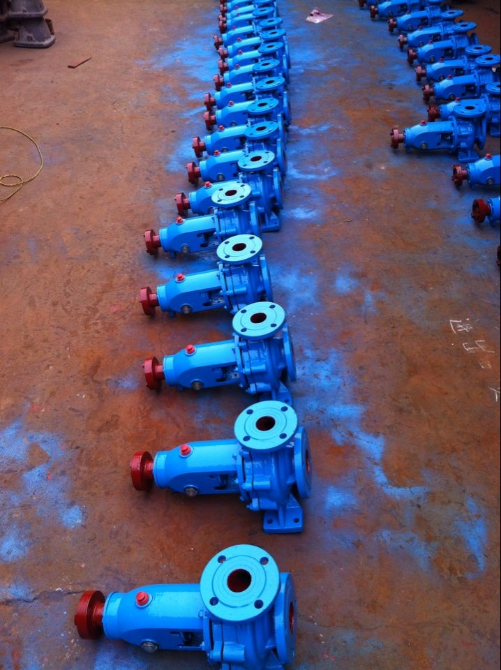 K type centrifugal pump for russia in warehouse