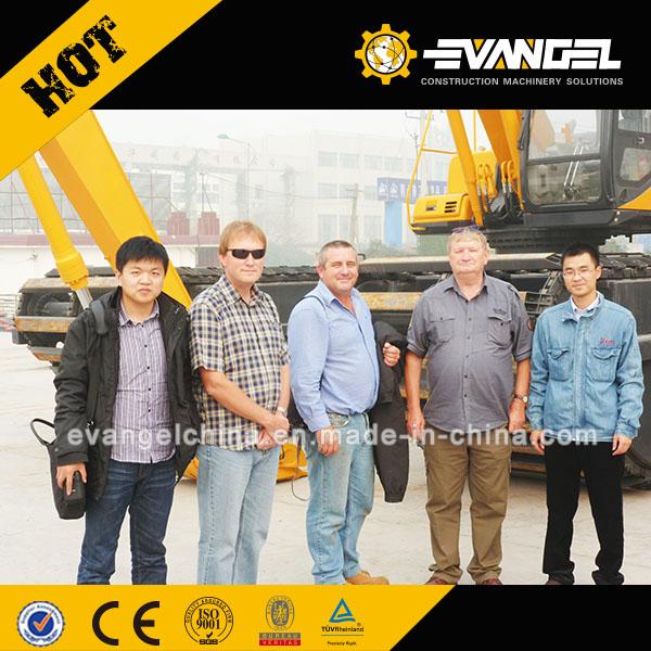 Australia Clients Visited Our Factory for Amphibious Excavator