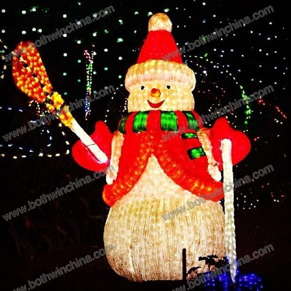 Snowman LED Christmas light for Festival decorating
