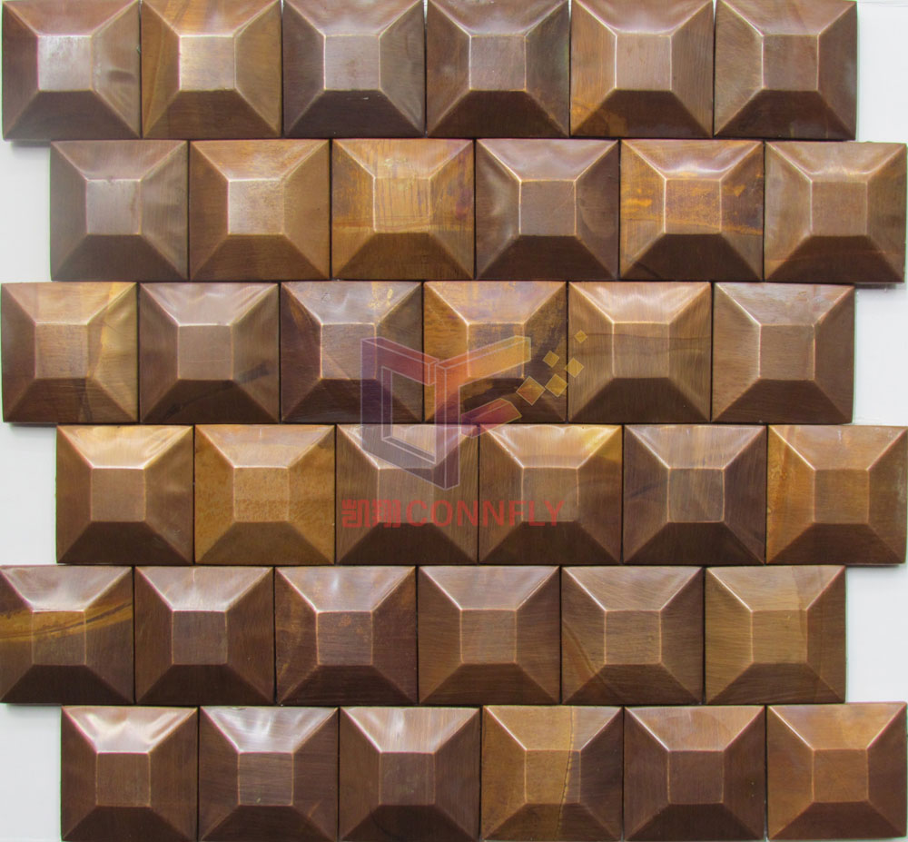 Special Square Shape Wall Mosaic Tile(CFM1090)