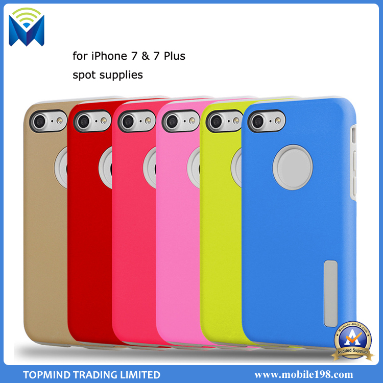 Factory Supplier Hybrid Shockproof Ultra-Thin Slim Cover Case for iPhone 7 Plus
