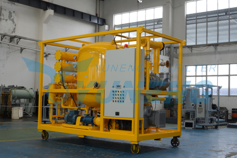 2016 Vacuum Transformer Oil Purifier for Transformer Oil Refinery