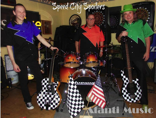 Band from USA- the Speed City Spoilers, use our guitars