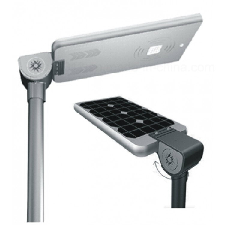 All in one Solar powered LED outdoor street light