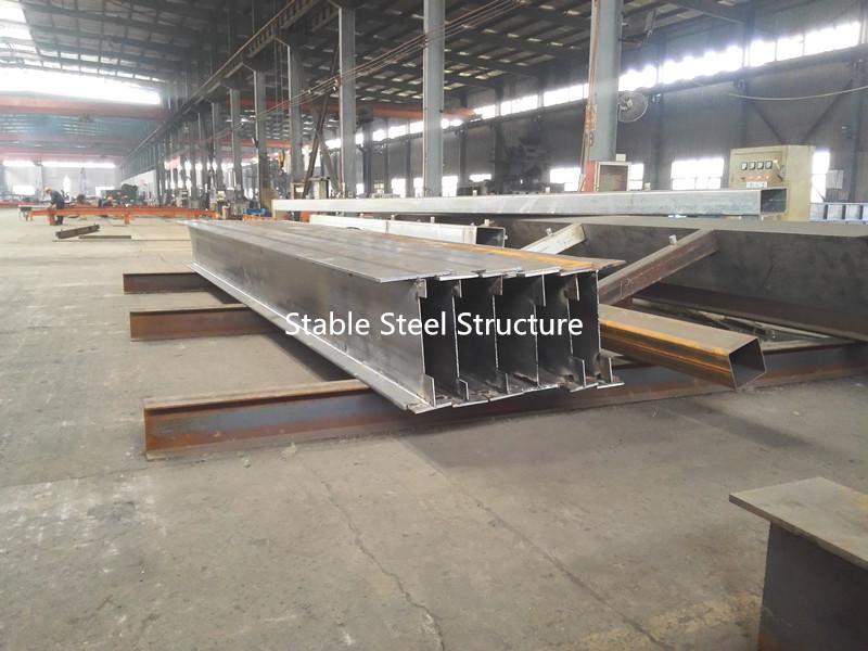 semi-manufactured H type steel